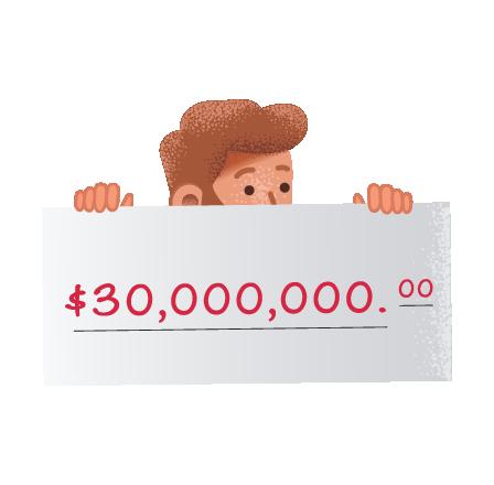 Ganadores de Mega Millions en thelotter.org